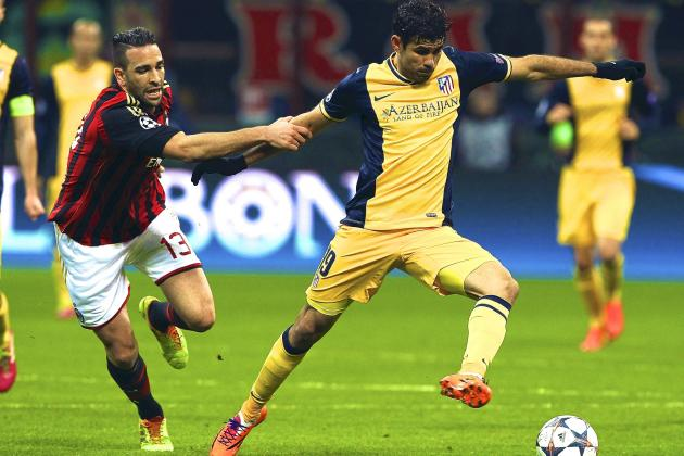 AC Milan vs. Atletico Madrid Score, Grades and Post-Match Reaction