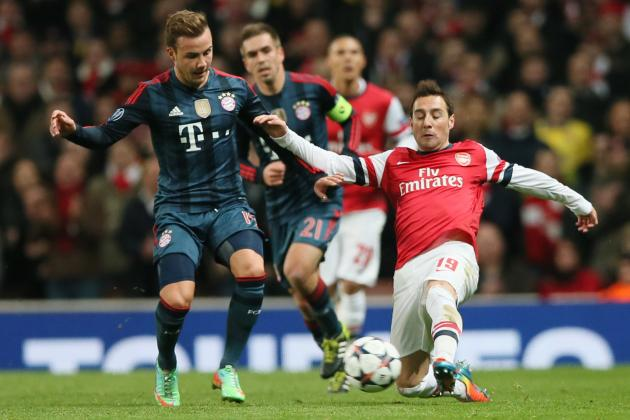 Film Focus: Arsenal Start Fast, but Bayern Settle After Szczesny Red Card