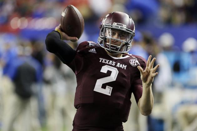 NFL Combine Schedule 2014: When to Watch Johnny Manziel and Other Top QBs