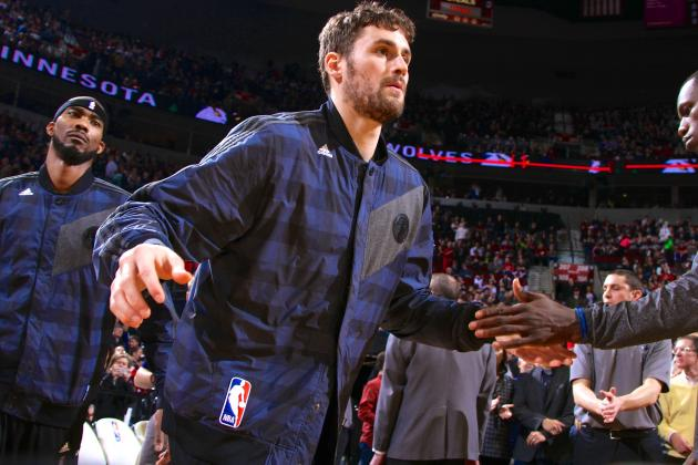 Kevin Love: Timberwolves Have 'Better Team, Better Foundation' Than Lakers