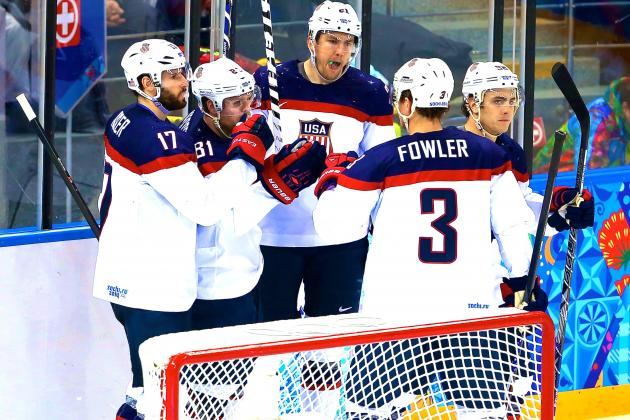 USA Hockey Has All the Answers so Far; Formidable Canada Test Awaits in Semis