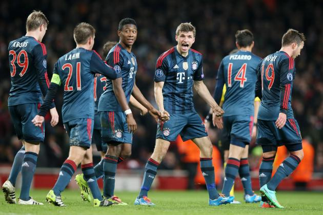 Arsenal Win Shows Bayern Munich Are a Class Above the Premier League