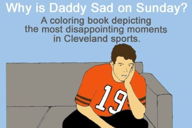 Cleveland Fan Will Try to Turn Disappointing Sports Moments into Coloring Book