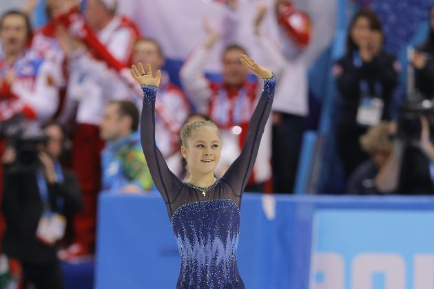 Yulia Lipnitskaya Fails to Medal in Women's Figure Skating Individual Program