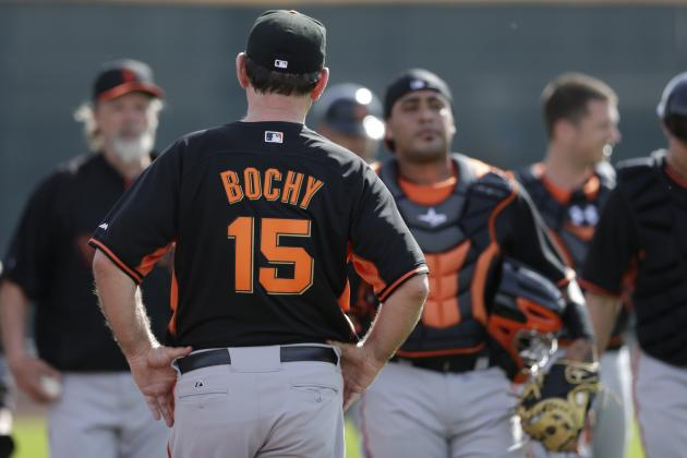 Bochy Makes Surprising Statement in First Full-Squad Meeting