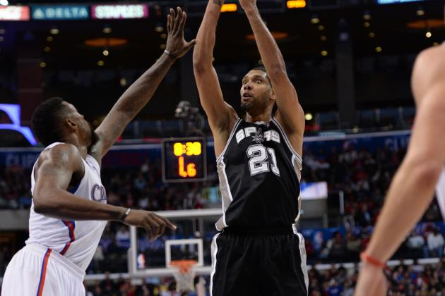 Duncan, Parker, Kawhi out vs. Blazers; Splitter Active