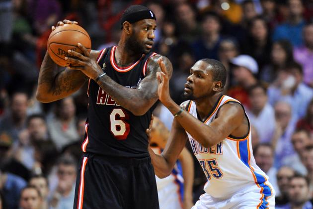 Kevin Durant Is the Best Thing to Ever Happen to LeBron James