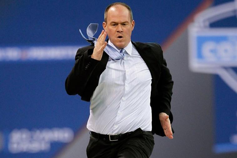 Cheerleaders Will Run 40-Yard Dash at NFL Combine with Rich Eisen