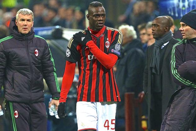 Mario Balotelli Injury: Updates on AC Milan Star's Shoulder and Return