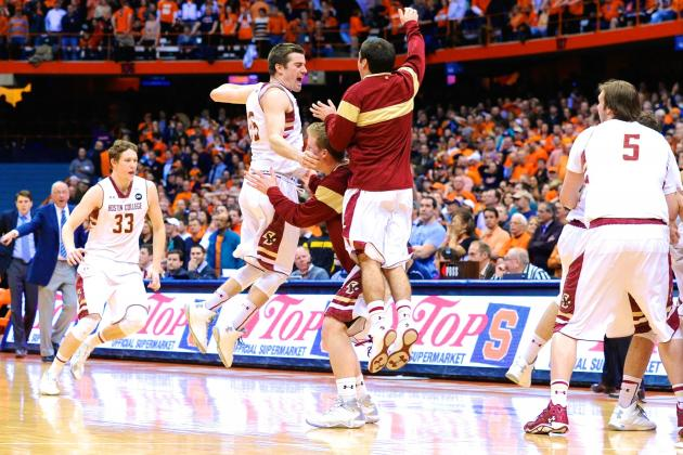 Boston College vs. Syracuse: Score, Recap and Analysis for Eagles' Upset Win