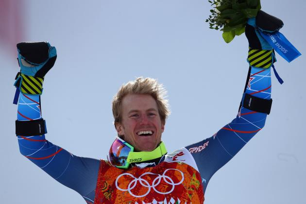 Ted Ligety Earns 1st Men's Giant Slalom Gold for USA