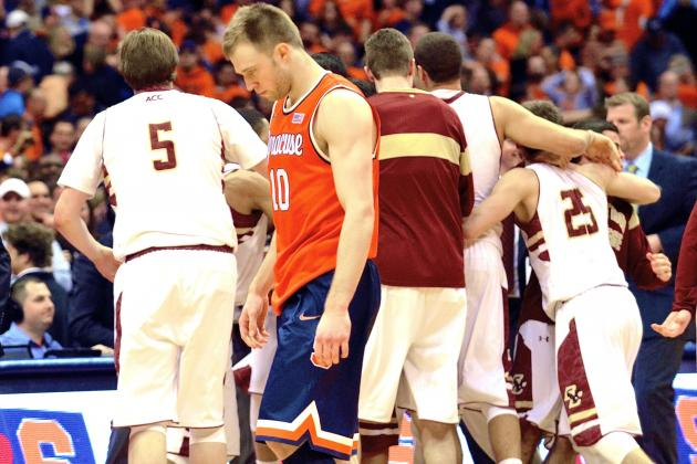 Syracuse Stunned by Boston College: Who's College Basketball's No. 1 Team Now?