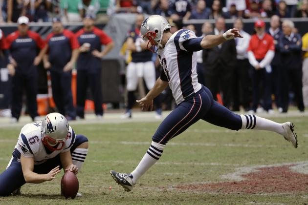 Patriots Offseason Questions: Could Kicker Stephen Gostkowski Be a Cap Casualty?