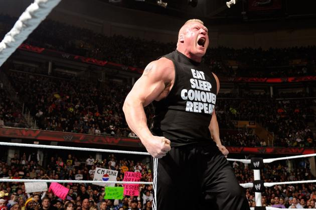 Brock Lesnar Should Be Booked Against the Elimination Chamber Winner