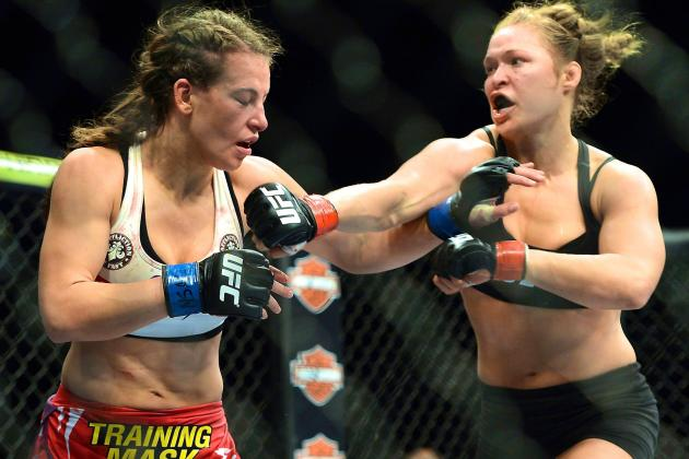 Ronda Rousey Is Willing to Die to Keep Her UFC Championship