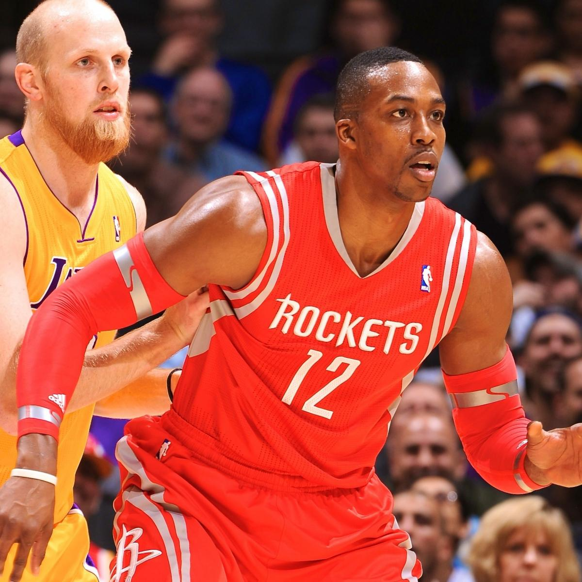 Houston Rockets X Lakers: Houston Rockets Vs. Los Angeles Lakers: Live Score And