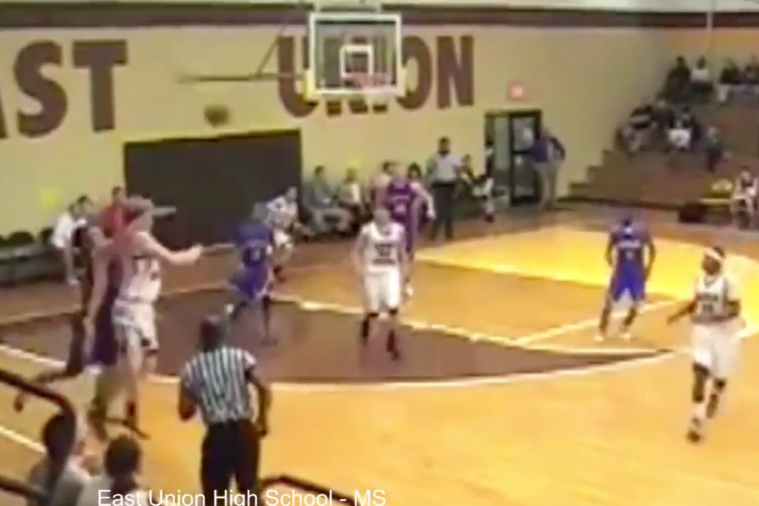 Mississippi High Schooler Ty McDonald Hits an Insane No-Look 3-Pointer