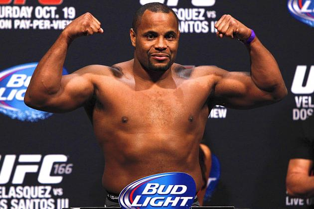 Daniel Cormier, Pat Cummins Both Supremely Confident in UFC 170 Victory