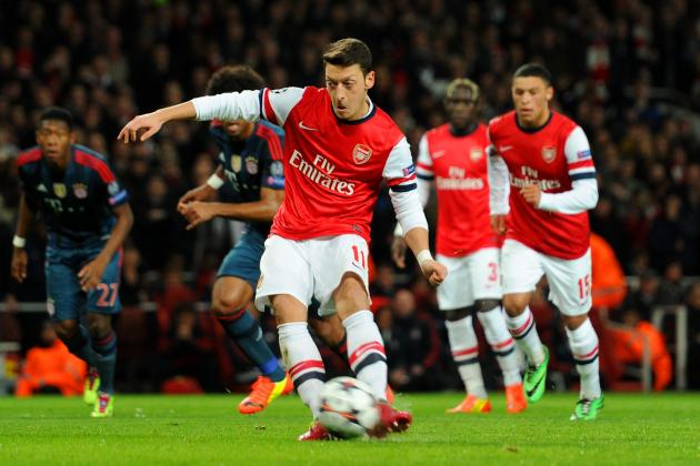 Mesut Ozil Hammered by Arsene Wenger and Media After Arsenal vs. Bayern Munich