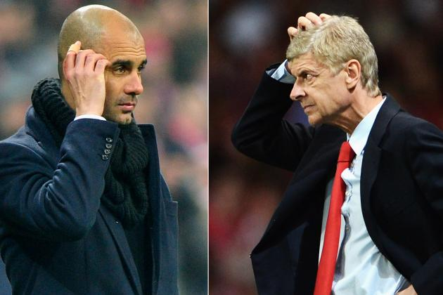 Bayern Munich 'Puzzled' After Arsene Wenger Spurns Pep Guardiola Handshake