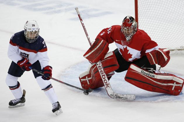US Olympic Hockey Team 2014: Preview for Men's and Women's Matchups vs. Canada