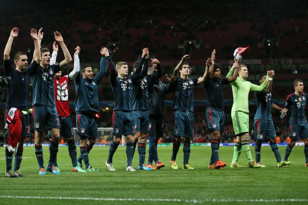 Bayern Munich Beat Arsenal, Then Troll Them with Poem on Twitter