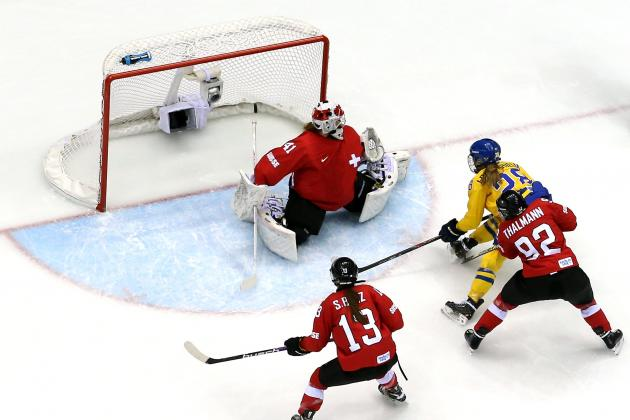 Switzerland vs. Sweden Olympic Women's Hockey 2014: Bronze Medal Game Live Score