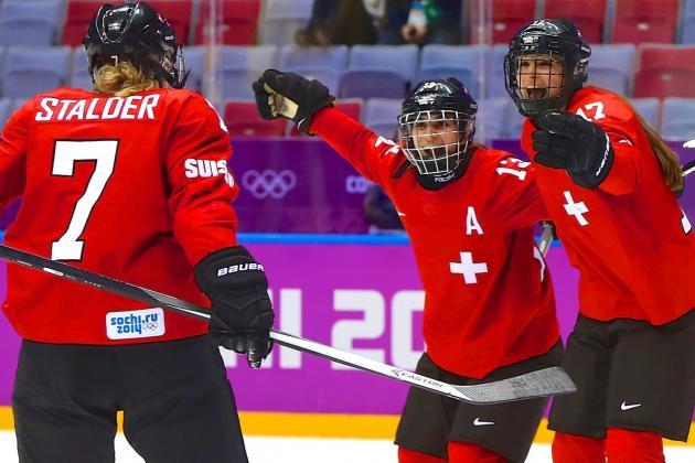 Switzerland vs. Sweden Olympic Women's Hockey 2014: Bronze Medal Game Live Score