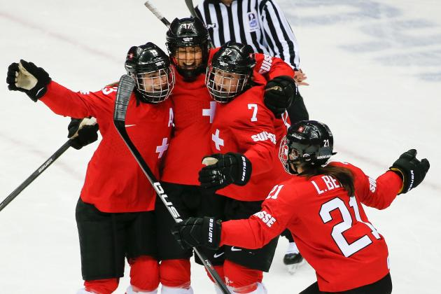 Switzerland vs. Sweden Women's Hockey Bronze-Medal Game: Score and Recap