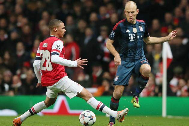 Arjen Robben Hits Back at Spitting Claims Involving Arsenal's Bacary Sagna