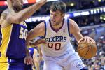 Report: 76ers Trade Spencer Hawes to Cavs -- Details Here