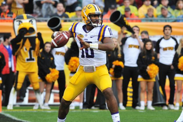 How Stephen Rivers Transferring from LSU Shakes Up Tigers' 2014 QB Battle