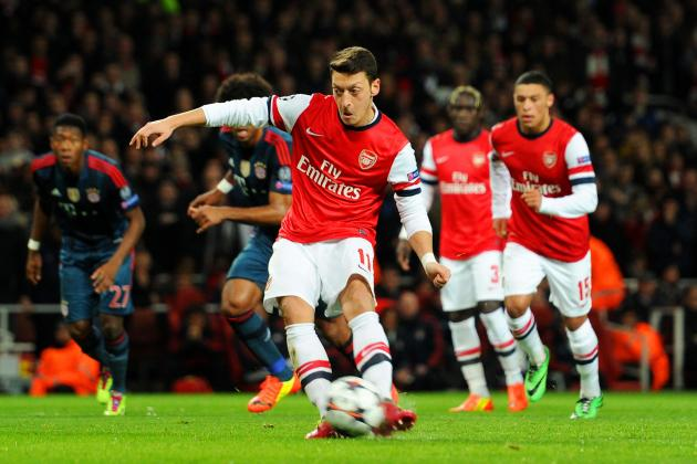Arsenal's Mesut Ozil Needs Time to Adjust to Life in the World's Toughest League