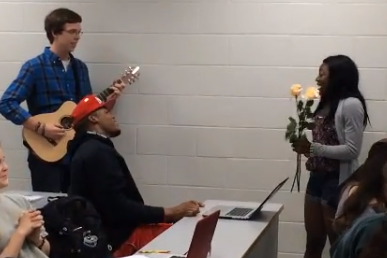 Video: Auburn Students Serenade Cam Newton On Valentine's Day…Again