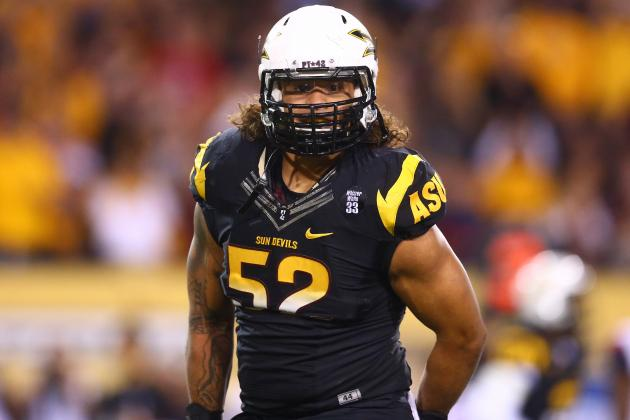 Carl Bradford NFL Draft 2014: Highlights, Scouting Report for Packers OLB