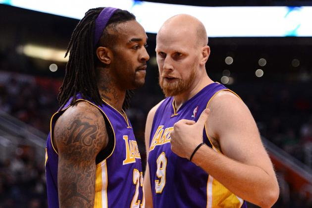 Hawks Talked with Lakers About Jordan Hill, Chris Kaman