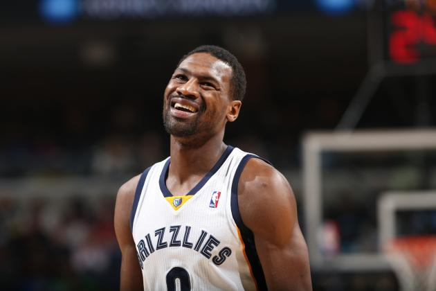Tony Allen Has No Problem Coming off the Bench This Friday vs Clippers