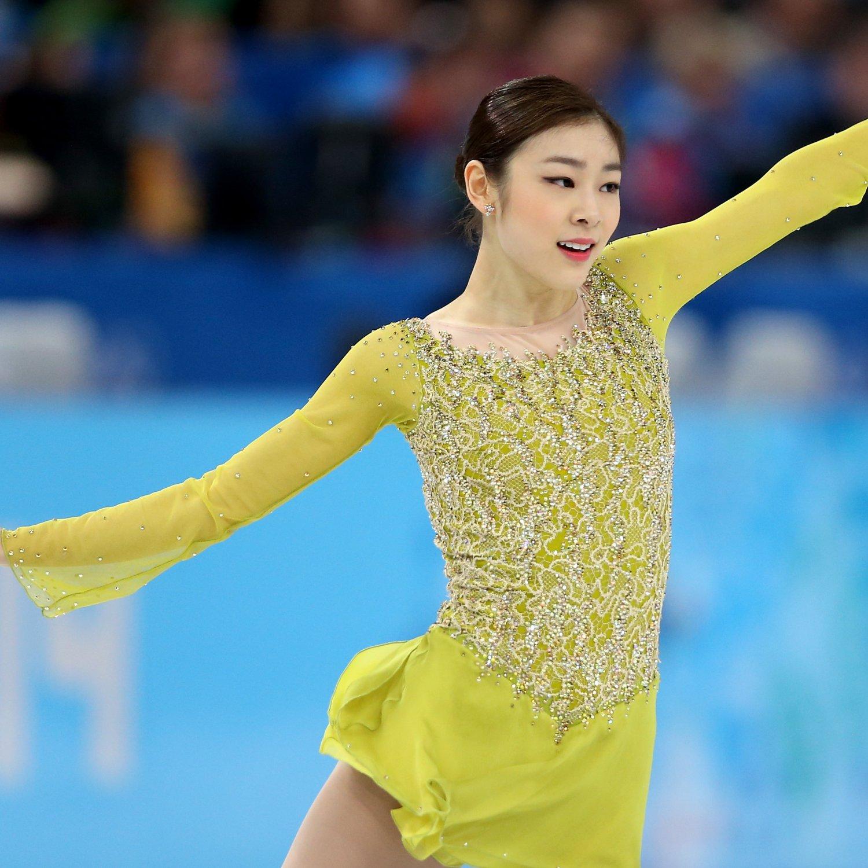 Yuna Kim Wins Silver Medal in Women's Figure Skating ...