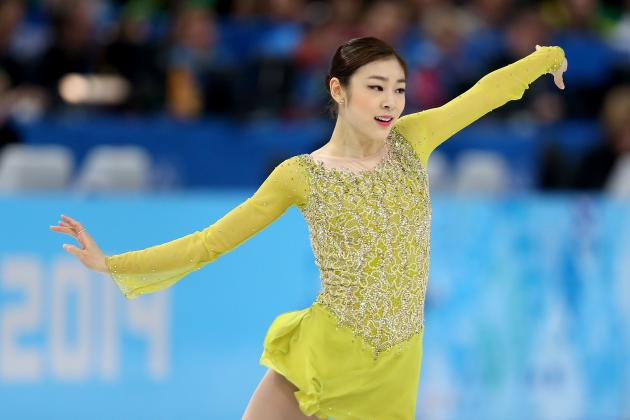 Yuna Kim Wins Silver Medal in Women's Figure Skating Individual Program