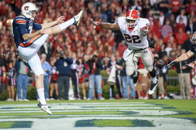 Auburn's Steven Clark Ready to Wow NFL with Aussie Punt