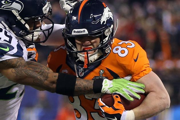 John Fox Doesn't Foresee a 'Tremendous Decision' on Wes Welker's Future