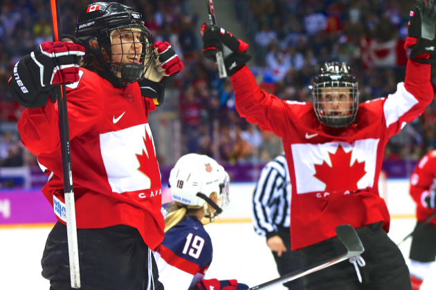 USA vs. Canada Olympic Women's Hockey 2014: Live Score, Highlights and Reaction