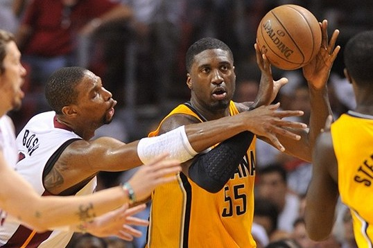 NBA Rumors: Roy Hibbert Says Indiana Pacers Will Stop Miami Heat Three-Peat