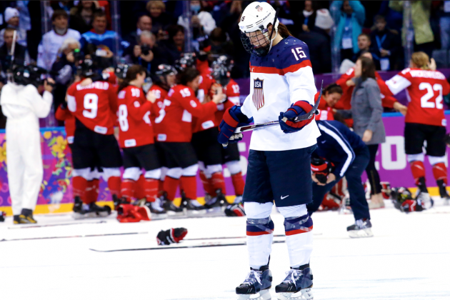 USA vs. Canada Women's Hockey Gold-Medal Game: Score and Recap