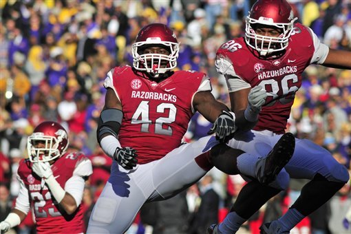 Arkansas Football: Who Will Replace Chris Smith in Starting Lineup in 2014?