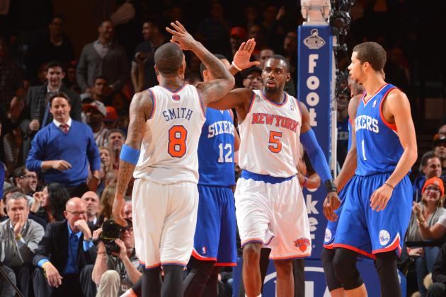 New York Knicks Must Give JR Smith's Minutes to Tim Hardaway Jr.