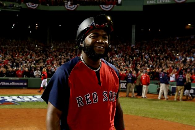 David Ortiz Meets with Red Sox Officials to Discuss Contract Status