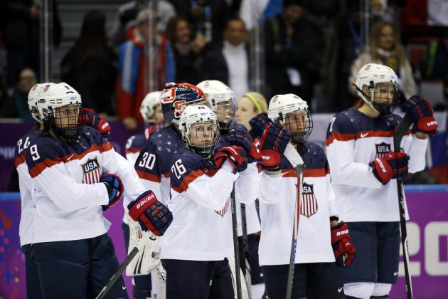 Close, but Short Again for U.S. Women's Olympic Hockey