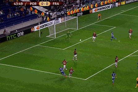 GIF: Ricardo Quaresma Scores a Ridiculous Golazo for Porto Against Frankfurt