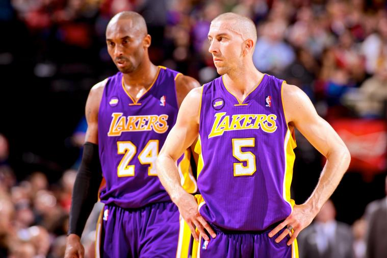 Kobe Bryant Is Not Happy the Lakers Traded Steve Blake
